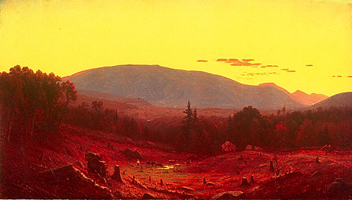 Sanford Robinson Gifford, Hunter Mountain, Twilight, 1866